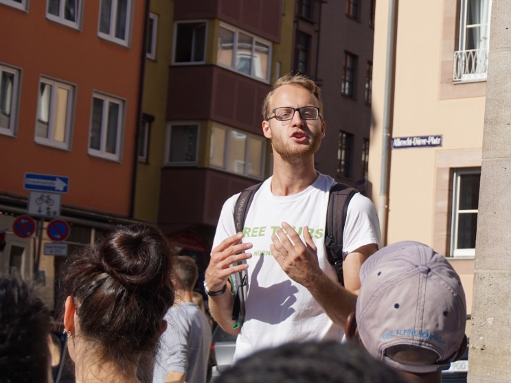 Tour guide Nuremberg Free Walking Tour