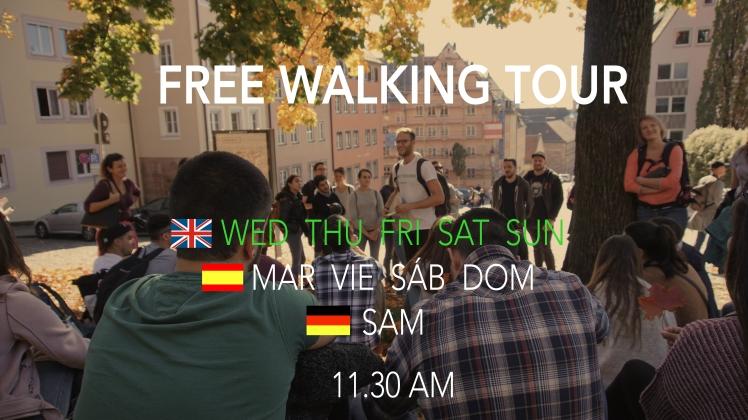 Free Guided Walking City Sightseeing Tour Nuremberg